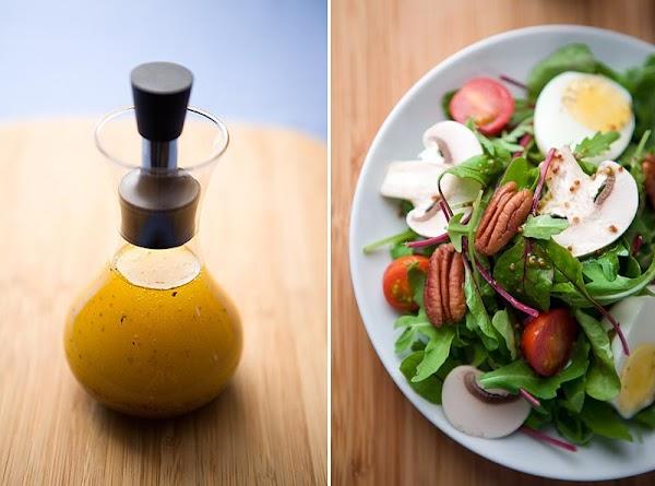 Honey & Mustard Salad Dressing Recipe