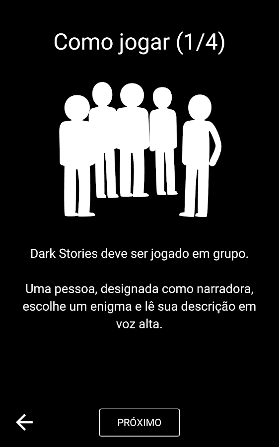 Dark Stories: captura de tela