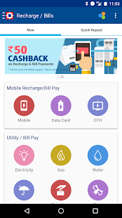 Recharge, Pay Bills & Shop Screenshot