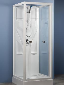 Cabine de douche intégrale Juist