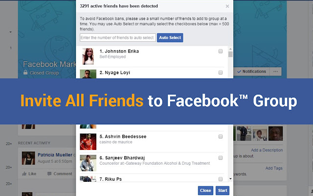 for Facebook Group Invite All Friends 2017 Chrome Web Store