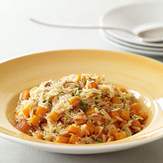 Creamy Orzo Risotto with Butternut Squash
