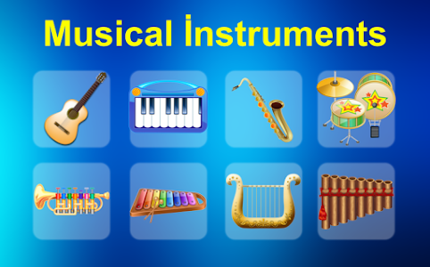 Musical İnstruments For Kids 1.11