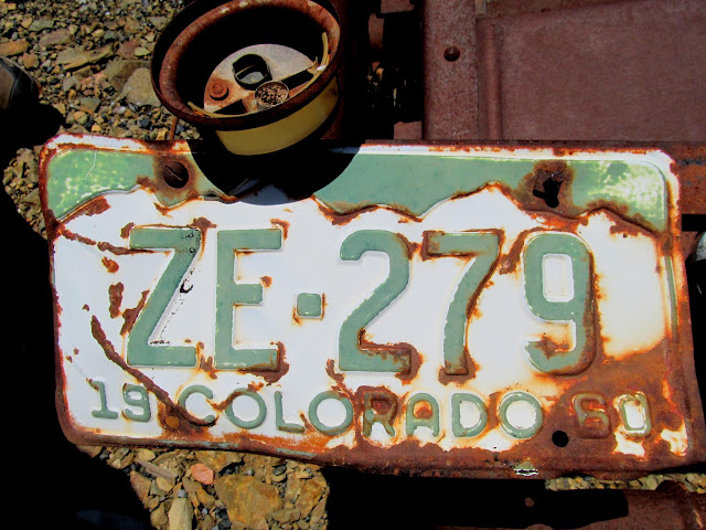 1960 Colorado license plate