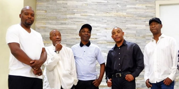 Stimela is ready to share great music, from left to right: Sam Ndlovu, Mnca Mtshali, Ntokozo Zungu, Sandile Ngema and Thapelo Khomo.