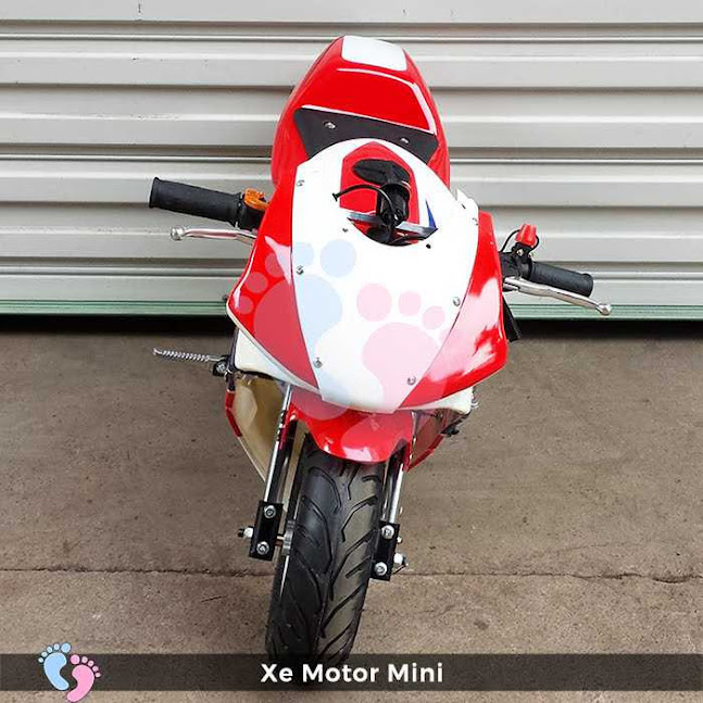 Xe mô tô mini Ducati chạy bằng xăng