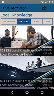 Local Knowledge Fishing Show- screenshot thumbnail
