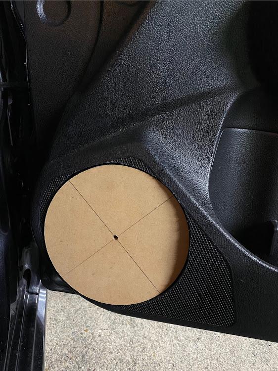 インプレッサ スポーツ GP6のオーディオ,アウターバッフル,DIY,後戻り出来ない,インナーバッフル自作に関するカスタム&メンテナンスの投稿画像1枚目