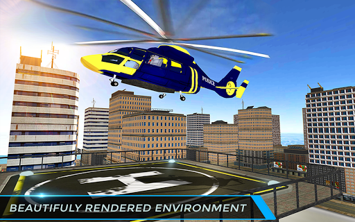 Real City Police Helicopter Games: Rescue Missions 4.0 screenshots 11