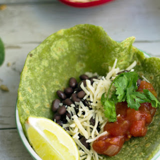 Spinach and Sunflower Seed Tortillas