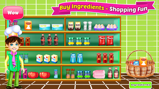 Bake Cupcakes - Cooking Games- screenshot thumbnail