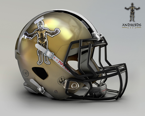 the-logo-of-national-south-affa-androids-is-a-c-3po-mascot-with-gold-black-and-white-details