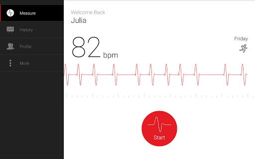 Cardiograph - Heart Rate Meter screenshot 7