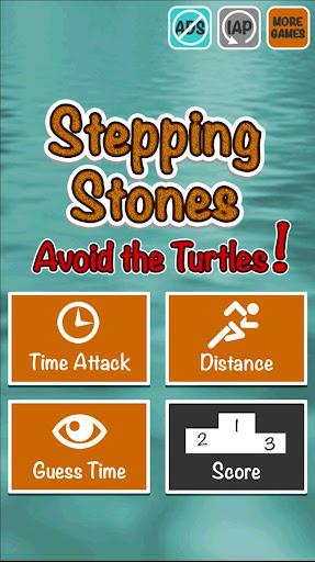 Stepping Stones Avoid Turtles
