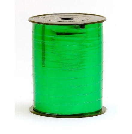 Presentband 10x250 metall grön