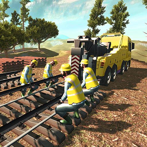 Train Construction Crane Simulator 17 & Builder 3D
