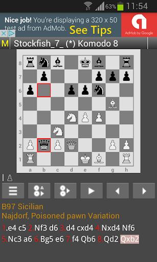 Chess Engines Play Analysis 0.7.9 screenshots 2