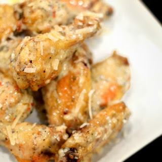 Parmesan Roasted Garlic Wings