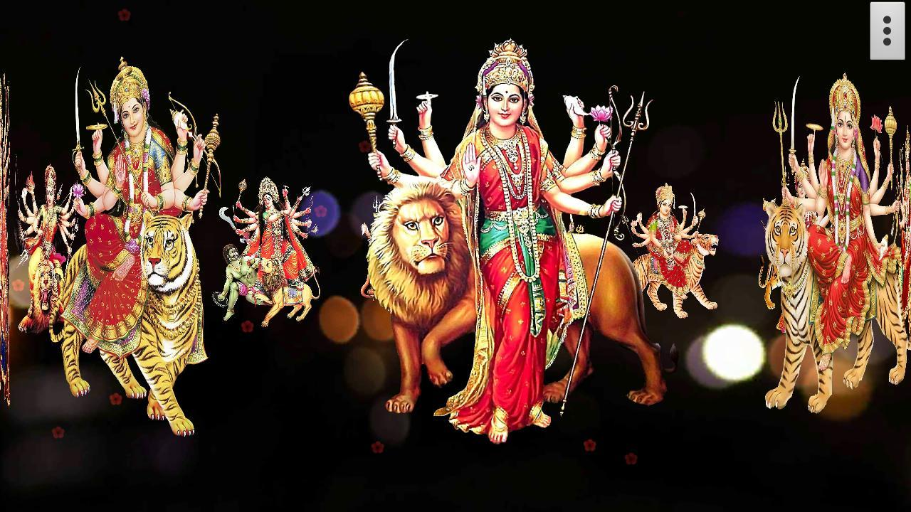 Wallpaper download mata rani - 4d Maa Durga Live Wallpaper Screenshot