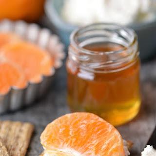 Creamy Honey Tangerine Bites