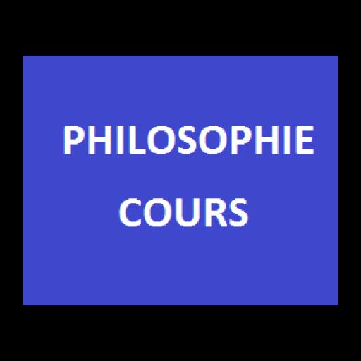 Philosophie - Cours