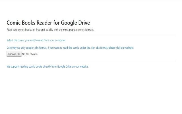 Comic Reader for Google Chrome™