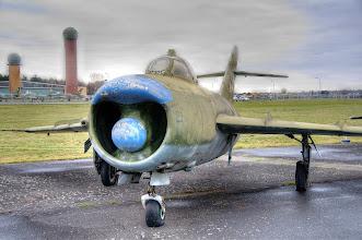 Photo: Kolejna wersja MIG-17 - tym razem przechwytujący MIG-17PF wyposażony w radar