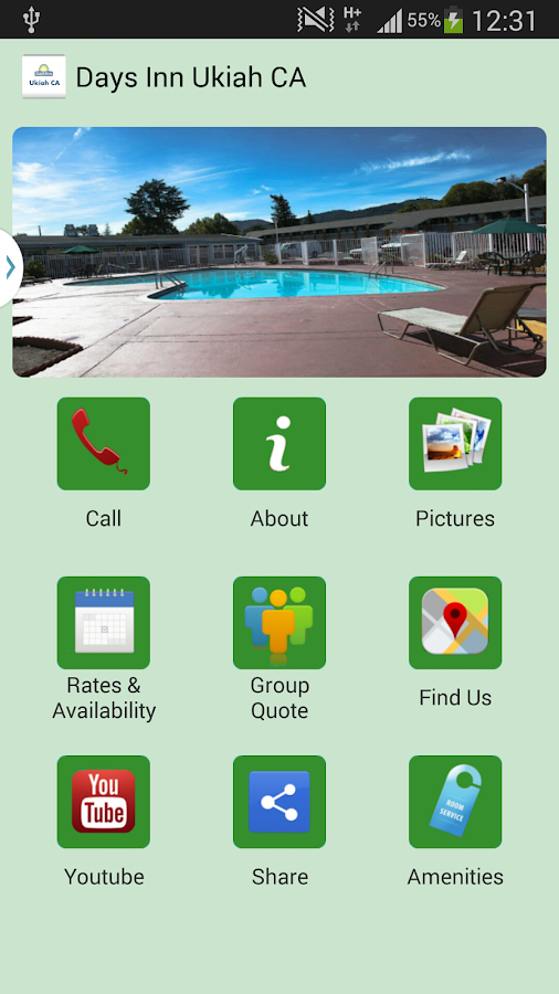 Days Inn Ukiah CA Hotel- screenshot