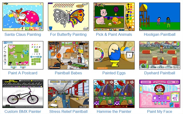 Online Coloring Painting Games For Kids Of All Ages Free Fun Educational And Easy To Play