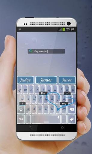 害羞日出 TouchPal 皮肤Pífū|玩個人化App免費|玩APPs