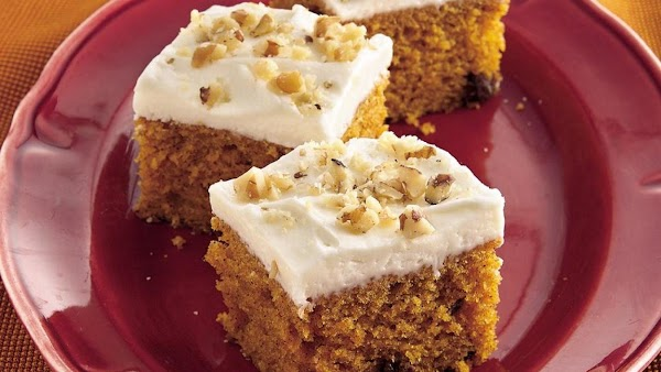 Pumpkin (or Squash) Bars Recipe