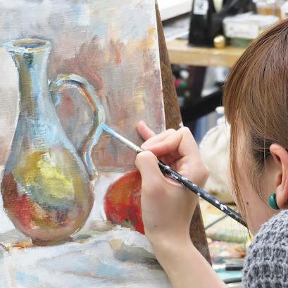 絵画体験(油彩画体験)