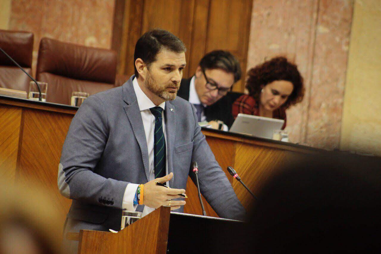 """Juan de Dios Sánchez: """"Es inadmisible que Algeciras continúe sin una conexión ferroviaria digna"""""""