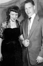 Photo: Milly Blanton Hopkins + Patrick Alonzon Tillery going out at UT 1952