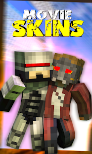 Movie Skins for Minecraft PE - náhled