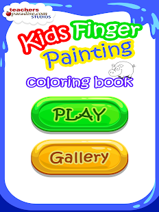 Kids Finger Painting Art Game- screenshot thumbnail