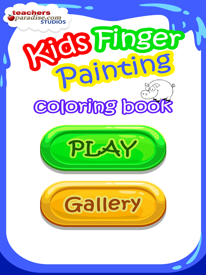Kids Finger Painting Art Game- screenshot
