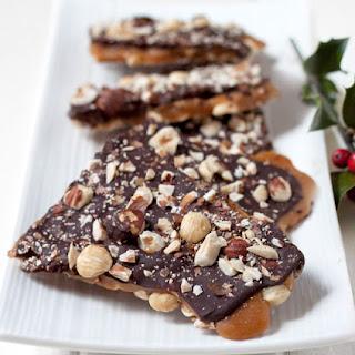 Chocolate Hazelnut Buttercrunch Toffee