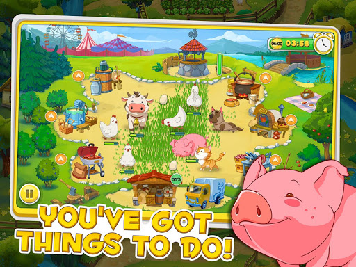 Jolly Days Farm: Time Management Game screenshots 2