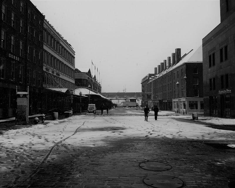 Winter in Manhattan di Francois