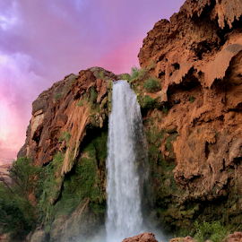 Havasu falls by Igor Nekhaev - Landscapes Waterscapes ( #waterfull #havasu #indianreserve )
