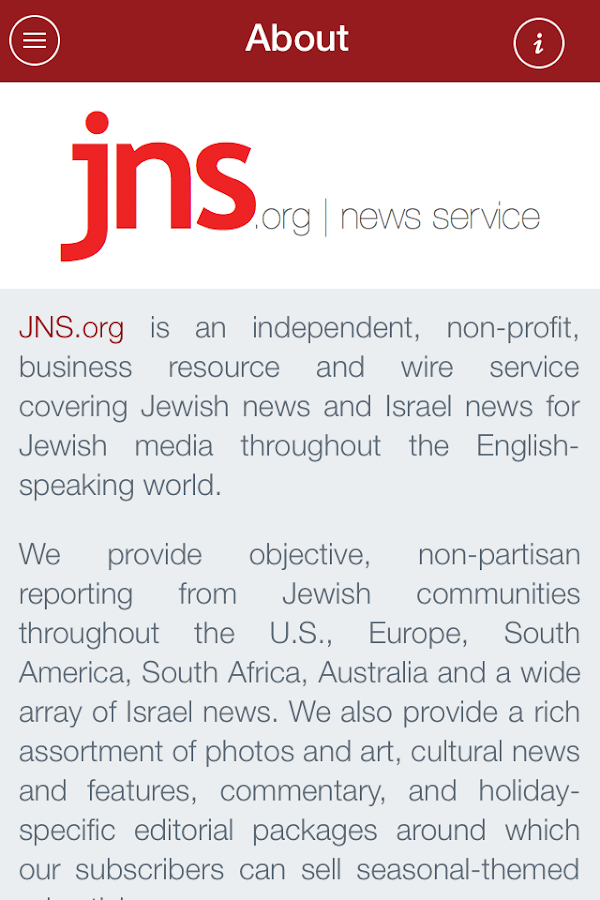 JNS.org - screenshot
