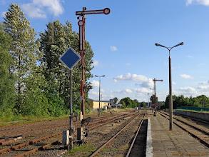 Photo: Infrastruktura stacyjna (część południowa) {Kartuzy; 2013-07-17}