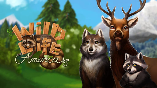 Pet World - WildLife America - jeu d'animaux  captures d'u00e9cran 1
