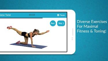 Women Workout: Home Gym Cardio - screenshot thumbnail 12
