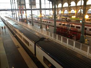 Photo: Train #2 : Eurostar 9015 - 9h13 (GMT+1) -> 10h38 (GMT)