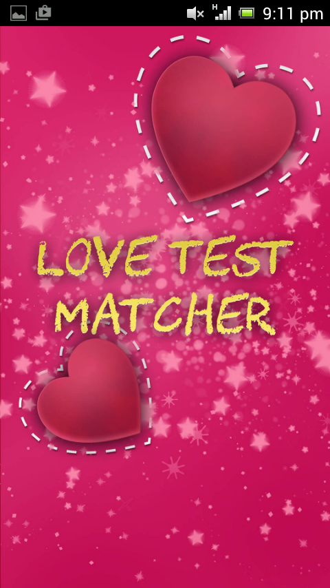 lovetest namen