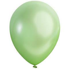 Ballong lösvikt satin, Grön