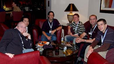 Photo: Tom Watson, Tom Schindl, Wassim Melhem, Curtis Windatt and friends