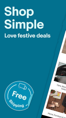 Holiday Shopping Deals: Buy, Sell & Save with eBay Android App Screenshot
